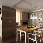 Set meja makan minimalis modern jepara