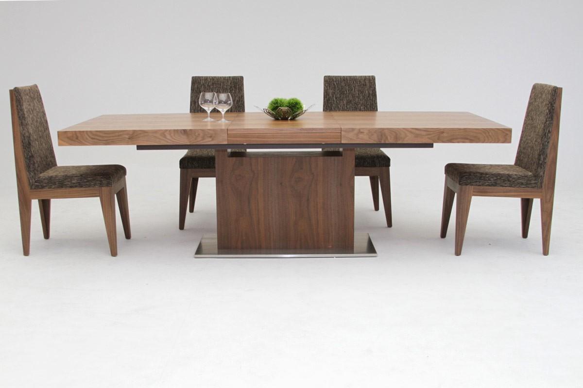 Set meja makan kayu minimalis jati jepara