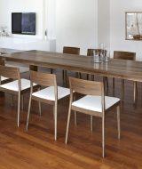 Set meja makan kafe jepara 8 kursi minimalis