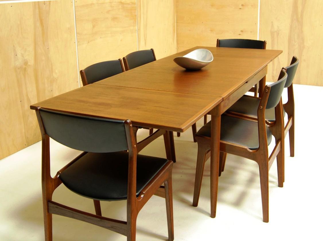 Set meja makan jepara jati minimalis