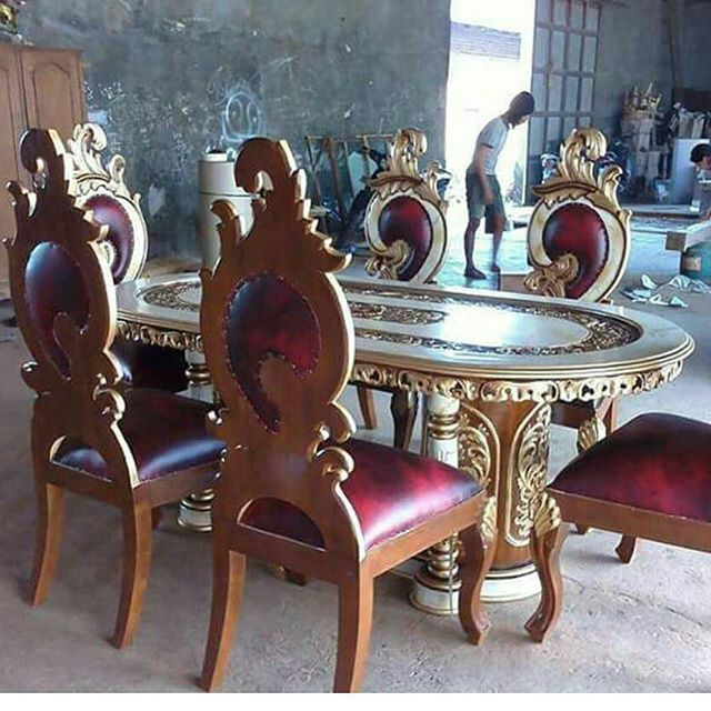 Set kursi makan ipin upin meja gendong