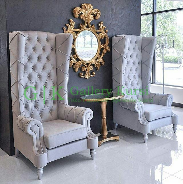 Set sofa wing chair