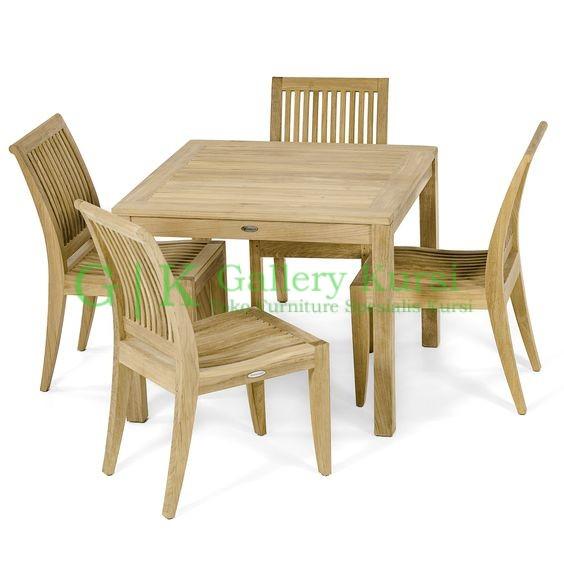 Amsterdam Dining Set Teak Furniture, Teak Furniture garden, Teak Folding Chair Set, Cafe Chair Set, Teak Outdoor Dining Set, Jepara Teak Chair, Outdoor Teak Chairs