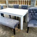 Set Meja Kursi Makan Sofa