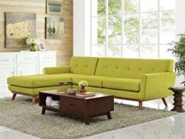 Set Kursi Tamu Sudut Sofa Scandinavian