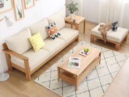 Sofa Set Jati Minimalis