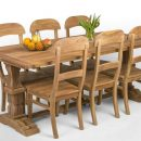 Teak Dining 6 Chairs Indonesia Furniture