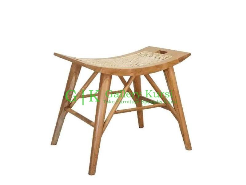 Kursi Cafe Stool Jati