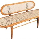 Teak Bench Rattan Furniture